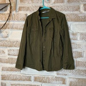 Old navy The Classic Shirt Green Large
